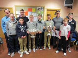 Johnny Foster and prize winners