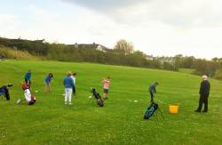 Boys & Girls Fun Golf, May 2016 Cushendall