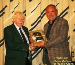 Front Nine: Frankie Quinn (Accepted by Kevin McCann)