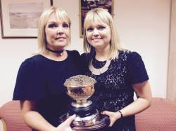 Sisters Joanne McCambridge / Carole Ward Winners Kilnadore Bowl Foursomes