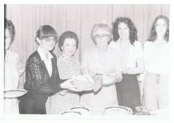 Flo Rainey, Christine McSparran, Mor O'Rawe, Mary Anderson