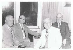 Harry Kerr, Pat Harvey, John Callaghan & Fergus Kelly