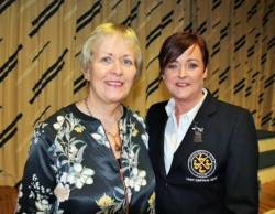 Lady Vice-Captain Eveleen McCurry & Lady Captain Anne McDonnell