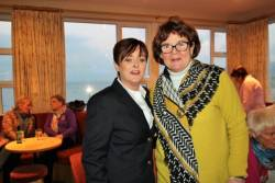 Lady Captain Anne McDonnell & Brid Buckley