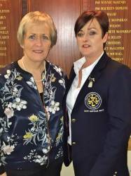 Lady Vice-Captain Eveleen McCurry & Lady Captain 2017 Anne McDonnell