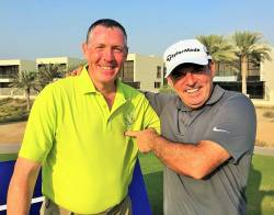 Paddy Joe Clerkin & Paul McGinley Nov 2017