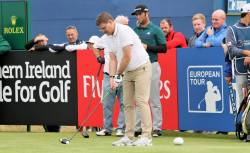 Irish Open Pro-Am 5/7/17 - Longest Drive Winner Andrew Burns