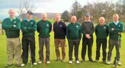 Cushendall GC Ulster Cup team v Cruit Island GC 18/3/17