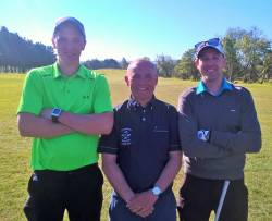 Jimmy Bruen Qualifying Ballycastle 7/5/17: Conall Scullion, Kevin McCann & Leonard McKeegan