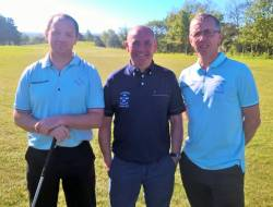 Jimmy Bruen Qualifying Ballycastle 7/5/17: Aidan Delargy, Kevin McCann & Ali McCambridge