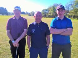 Jimmy Bruen Qualifying Ballycastle 7/5/17: Martin McKeegan, Kevin McCann & Conor McCambridge