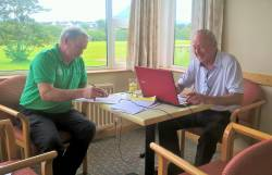 Alastair & Vincent - Draw for Captain's Day