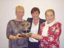 Brenda Carey & Bernie Jamison - Winners of Kilnadore Bowl Foursomes.