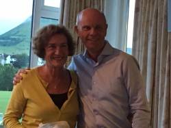August Open Day - Our sponsor Eamon Gillan presents 3rd prize to Sue Cashman. Well done Sue!!