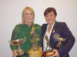 Joanne McCambridge - Winner of Bellisk Cup, Moya Hinds Memorial, Order of Merit & Best Handicap Reduction
