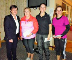 Runners-up: Eimear O'Hara, Tierna Elliott & Nicola Scullion