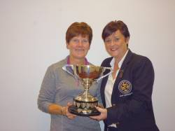 Rosemary McAlister - Winner of Eithne McCann Cup.