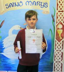 Charlie McIlhatton - St. Mary's Primary School, Cushendall 2017