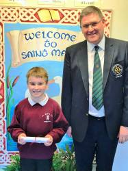 Charlie & Mr Captain Andrew Burns - Bursary 2018