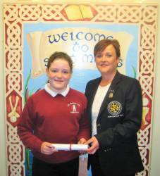 Grainne McAuley - St. Mary's Primary School, Cushendall 2017