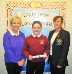 St. Mary's Primary School, Cushendall - Grainne McAuley 2017