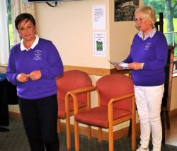 Lady Captain Anne with Kate McAlister - Presidents Day for Ladies 8/6/17