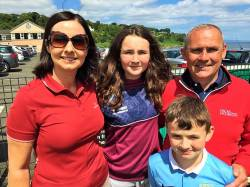 The McCann Family on Captain's Day 8th July 2017
