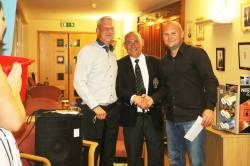 Captains Charity Winner