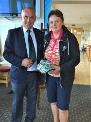 Captain's Prize for Ladies 6/7/17. Runner Up: Andrea McAlister +3.