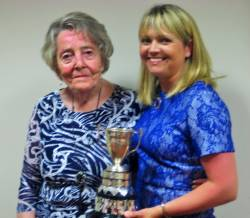 Lady President Rosemary Campbell & Winner Carole Ward