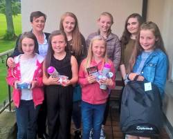 Lady Captain's Junior Prize winners