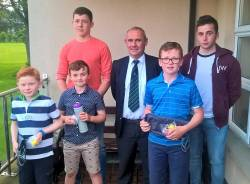 Captain's Junior Prize winners
