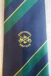 Cushendall Golf Club Gents Tie now available from bar & office priced £10