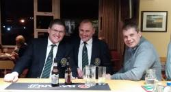 2018 Captain Andy Burns, 2017 Captain Kevin McCann, Vice Captain Joe O'Neill