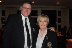 2018 Captain Andy Burns & Lady Captain Eveleen McCurry