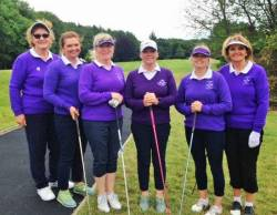 Cushendall Ladies played in the 3rd round of the Junior Foursomes at Belvoir