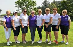 Ladies' Junior Cup Team playing Dunmurry in Cushendall on Sunday 3 June