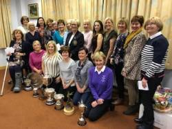 Ladies' end of summer prize giving 14/11/18