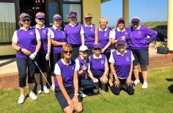 Cushendall's Mary McKenna Trophy Team who played Royal Portrush on Monday 28th May