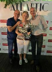 Deirdre Kearney wins the Atlantic Golf Society's tournament played on Onyria Palmares in the Algarve. 18/10/18