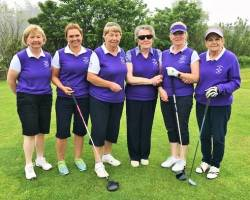 Home team for the Revive Active Fourball match 2/6/18